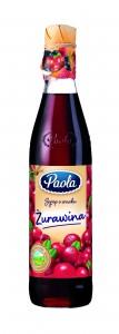 sok żurawinowy Paola