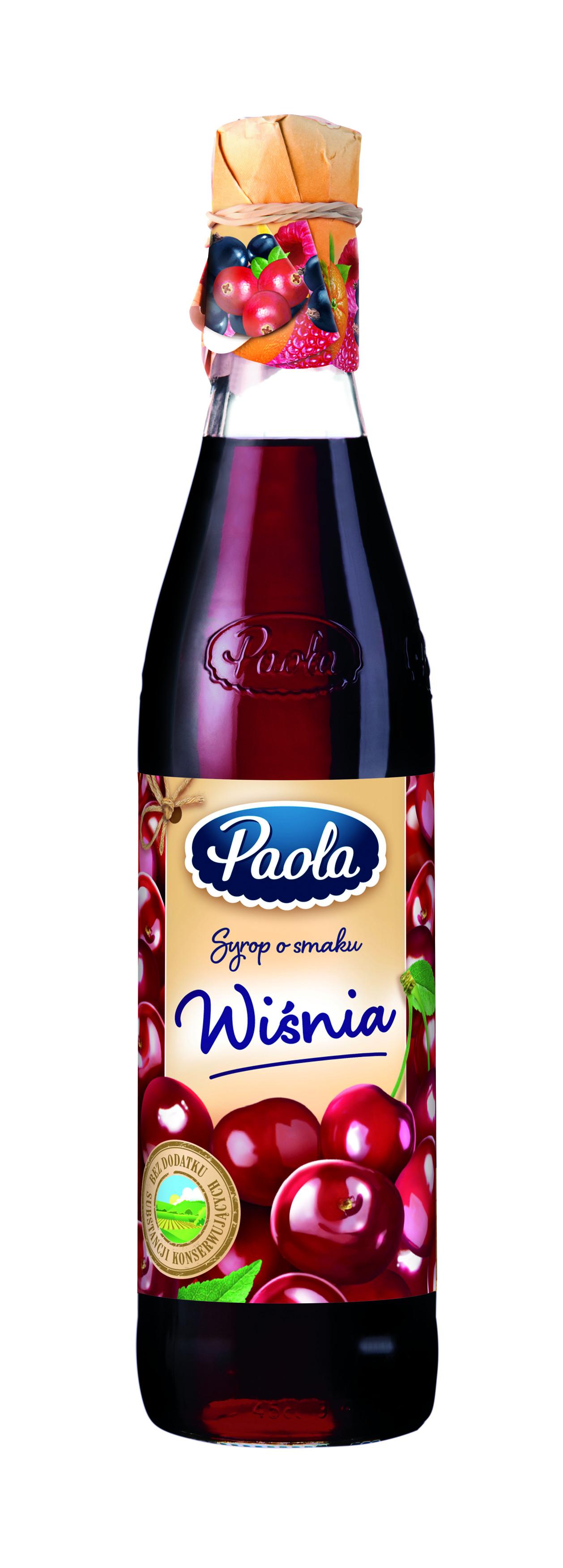 Syrop Paola o smaku wiśniowym
