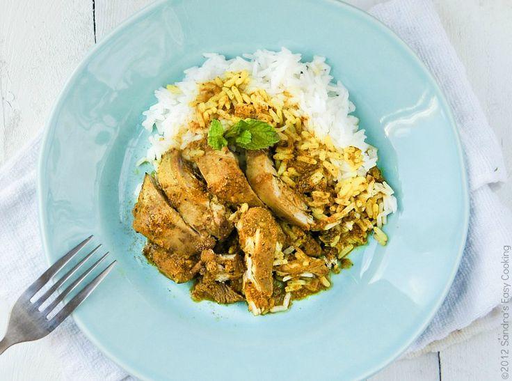 Kurczak w curry i z mlekiem kokosowym (źródło: pinterest.com)