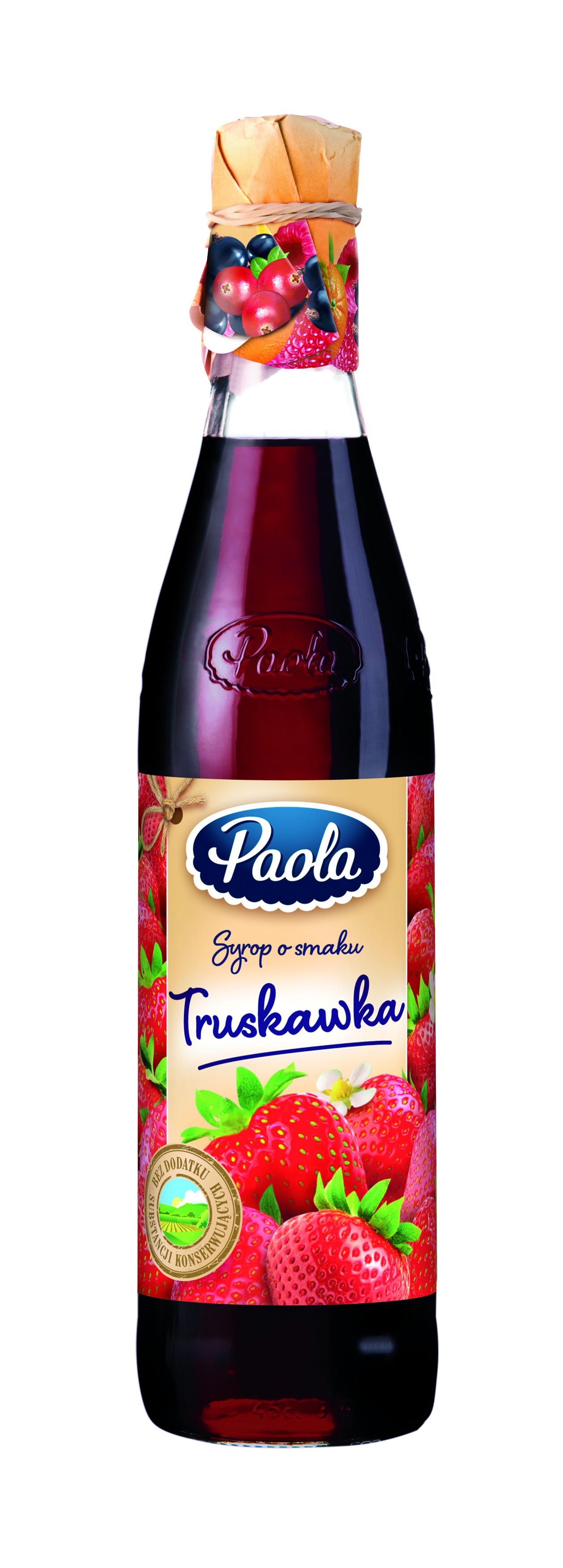 syrop truskawkowy Paola