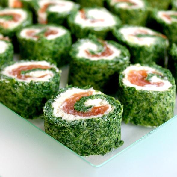 Rolada szpinakowo-łososiowa (źródło: pinterest)