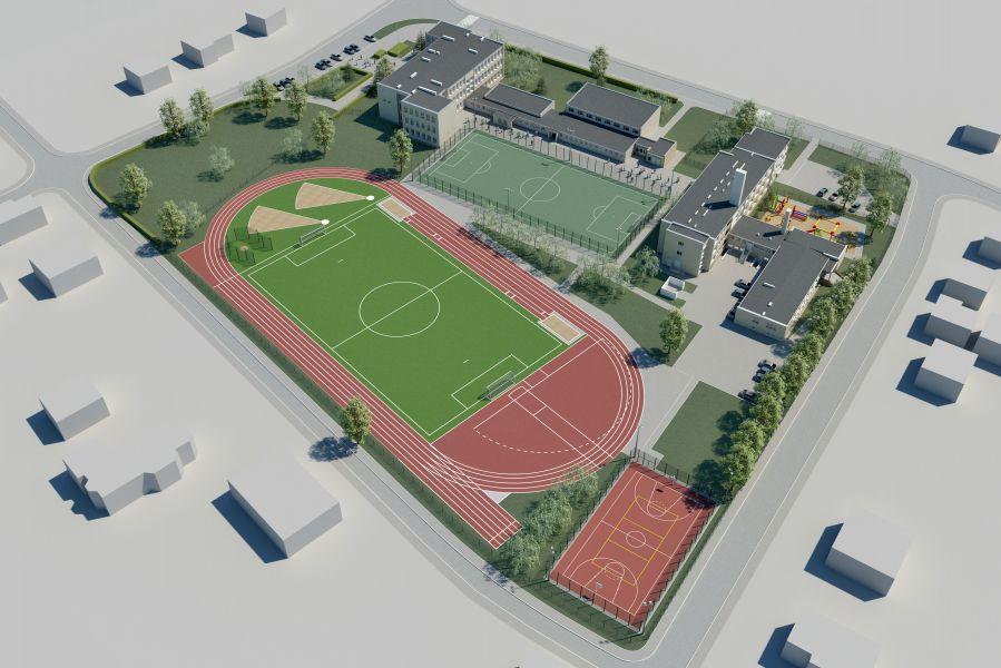 Stadion lekkoatletyczny w Puszczykowie
