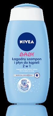 NIVEA BABY łagodny szampon i płyn do kąpieli 2w1 (źródło: nivea.pl)