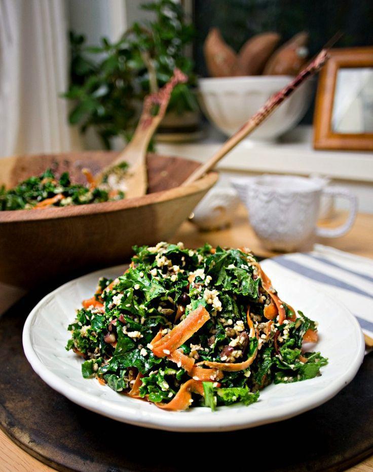 Sałatka z kaszą jaglaną i warzywami (źródło: pinterest)