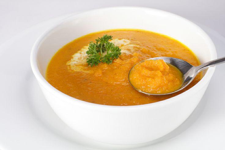 Zupa krem z marchwi i rabarbaru (źródło: pinterest)