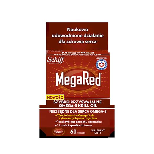 MegaRed Omega 3 Krill Oil (źródło: wybierzmegared.pl)