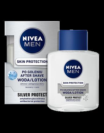 Woda po goleniu Nivea Silver Protect (źródło: www.niveamen.pl)