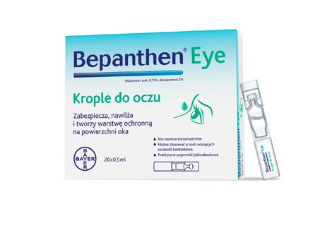 Krople do oczu Bepanthen