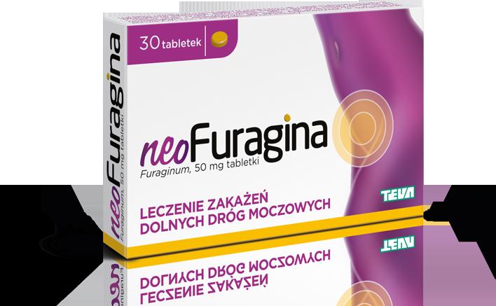 neoFuragina - na leczenie zakażeń dolnych dróg moczowych
