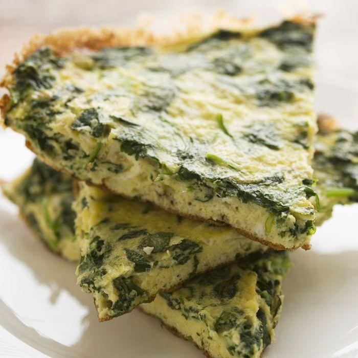 omlet z mąki jaglanej