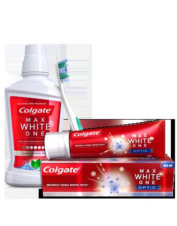 Linia wybielająca marki Colgate (źródło: www.colgate.pl)
