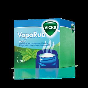 maść lecznicza na objawy przeziębienia (źródło: vicks.pl)