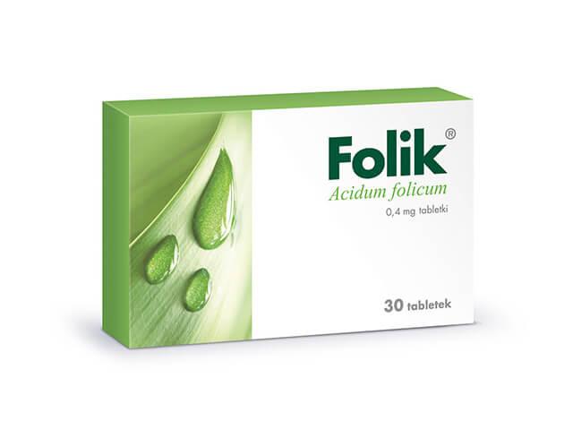 kwas foliowy folik