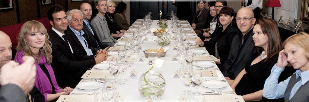 obiady czwartkowe a na nich mnóstwo gości