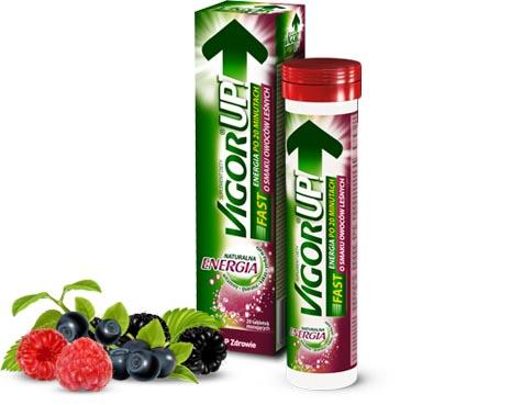 opakowanie vigourUp p smaku leśnych owoców