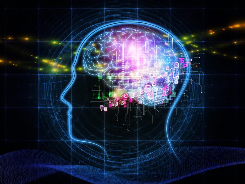 ledowa głowa z widocznym mózgiem