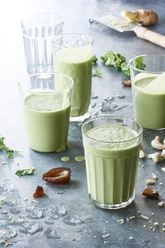 zielone koktajle działanie