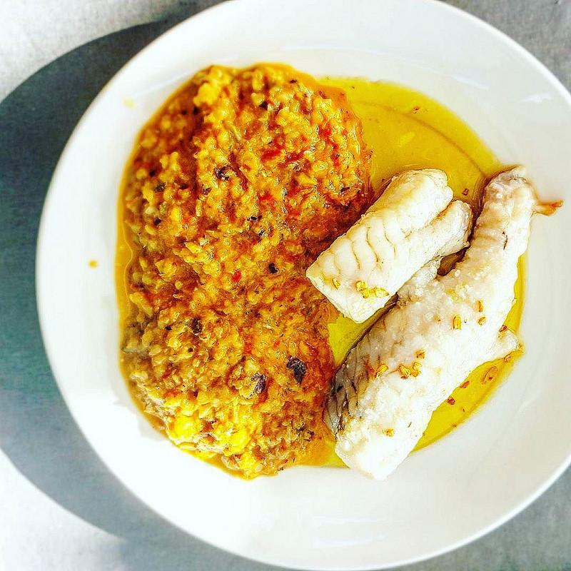 ryby składnikiem sałatki cesar