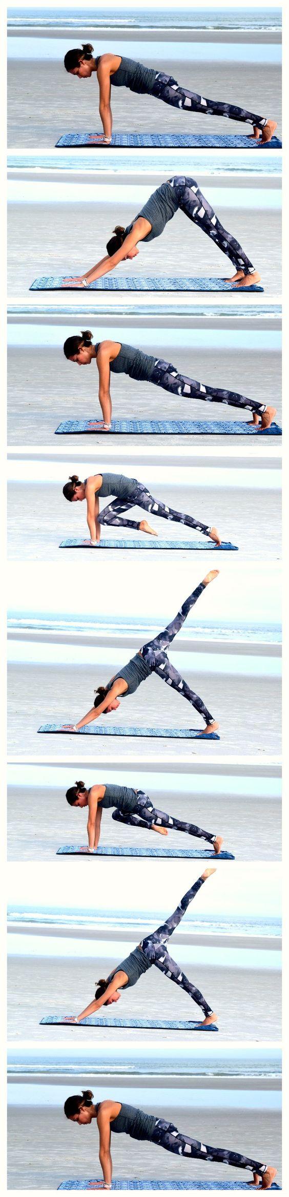 ćwiczenia pilates na nogi